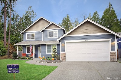 Olympia Single Family Home For Sale: 4110 61st Ct SW