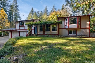 Gig Harbor Single Family Home For Sale: 7202 Sehmel Dr NW