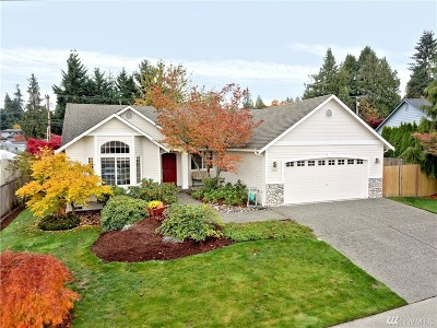 Snohomish Single Family Home For Sale: 12531 55th Dr SE