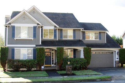 Federal Way Single Family Home For Sale: 1711 Pointe Woodworth Dr NE