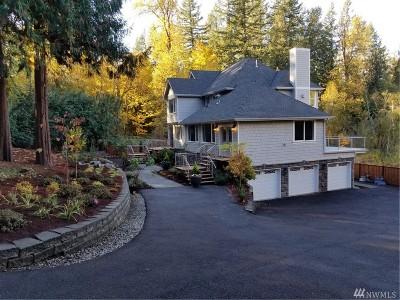 Redmond Single Family Home For Sale: 26726 NE Ames Lake Road
