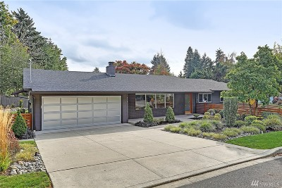 Bellevue Single Family Home For Sale: 804 109th Ave SE