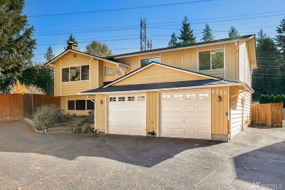 Bothell Single Family Home For Sale: 2318 177th St SE