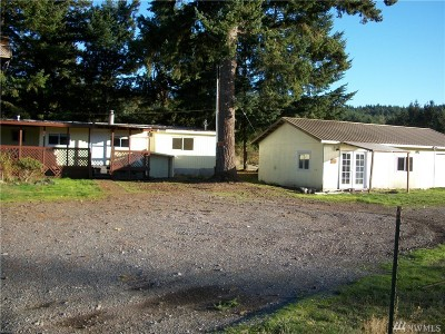 Rochester WA Single Family Home For Sale: $139,000