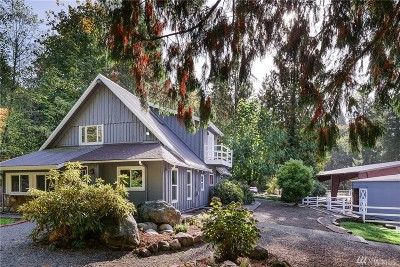 Issaquah Single Family Home For Sale: 25722 SE Tiger Mountain Rd