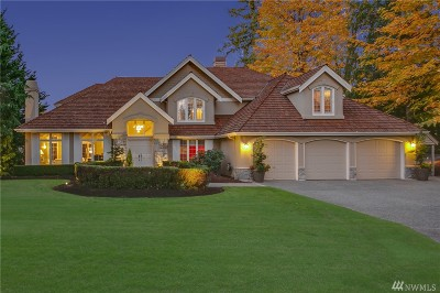 Sammamish Single Family Home For Sale: 24686 9th Place