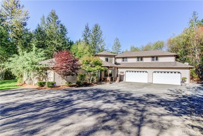 Snohomish Single Family Home For Sale: 5520 Pilchuck Tree Farm Rd
