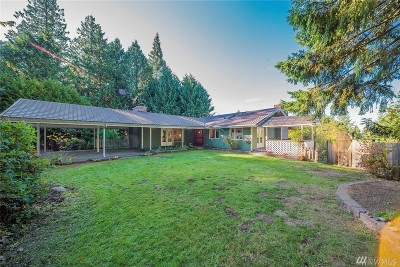 Edmonds Single Family Home For Sale: 12200 Scenic Dr