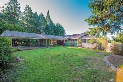 Edmonds Single Family Home Contingent: 12200 Scenic Dr
