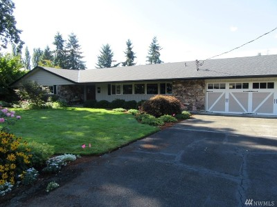 Centralia Single Family Home For Sale: 1207 Rancho Rd
