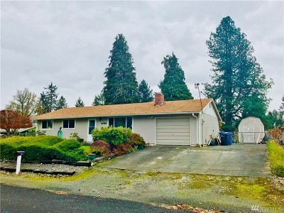 Spanaway Single Family Home For Sale: 17109 Spanaway Lane E