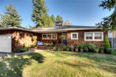 Burien Single Family Home For Sale: 14626 22nd Ave SW