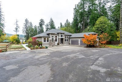 Olympia Single Family Home For Sale: 1026 Madrona Beach Rd NW