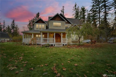 North Bend WA Single Family Home For Sale: $1,200,000
