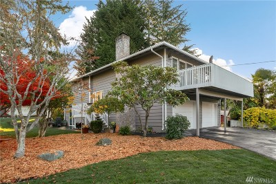 Shoreline Single Family Home For Sale: 19530 15th Ave NW