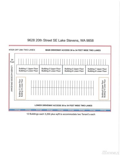 Snohomish County Residential Lots & Land For Sale: 9628 20th St SE