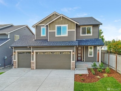 Puyallup Single Family Home For Sale: 13320 123rd (Lot 21) Ave E