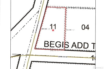 Snohomish County Residential Lots & Land For Sale: 164 St SE