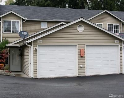 Puyallup Condo/Townhouse For Sale: 5605 99th St Ct E