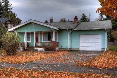 Tacoma Single Family Home For Sale: 5215 S Prospect St
