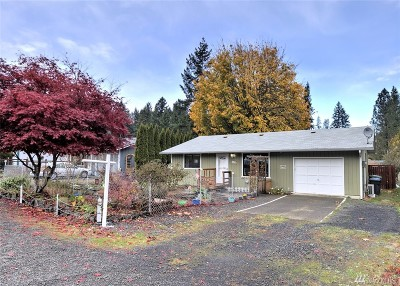 Shelton WA Single Family Home Sold: $158,500