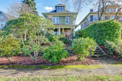 Tacoma Single Family Home For Sale: 1909 N Prospect St