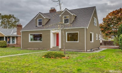 Bellingham WA Single Family Home For Sale: $650,000