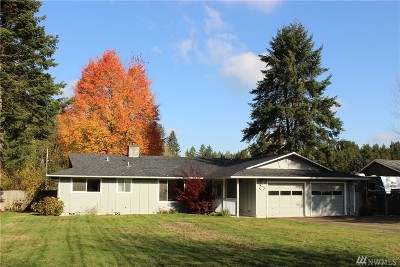 Olympia Single Family Home For Sale: 3140 83rd Ave SW