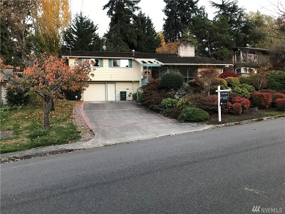 Mercer Island Single Family Home For Sale: 3420 79th Ave SE