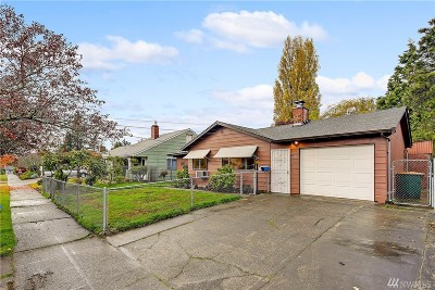 Seattle Single Family Home For Sale: 1408 SW Donovan St