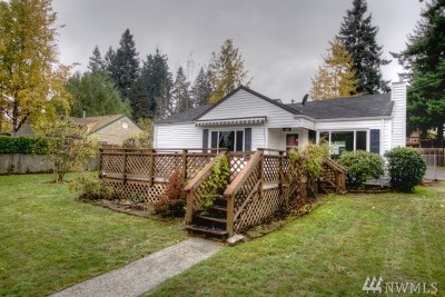 Olympia Single Family Home For Sale: 821 Garrison St NE
