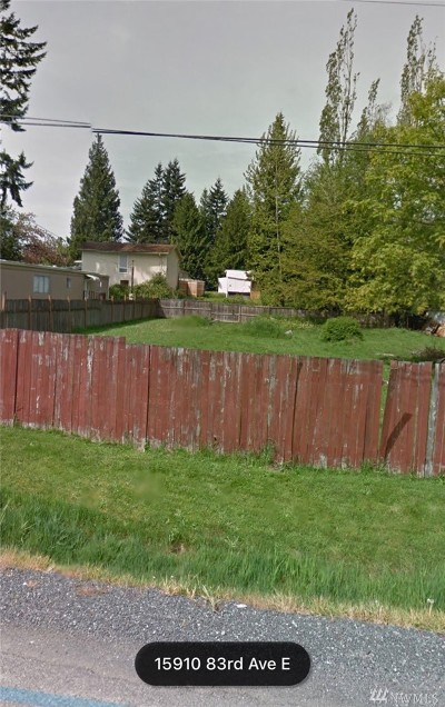 Puyallup Residential Lots & Land For Sale: 15910 83rd Ave E