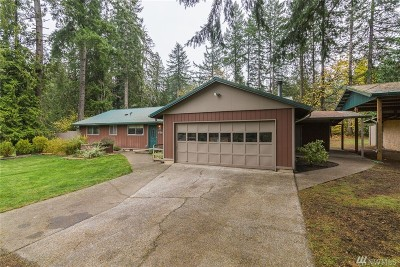 Single Family Home For Sale: 5616 110th Ave SW