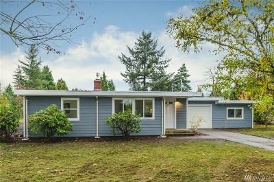 Centralia Single Family Home For Sale: 3211 Fords Prairie Ave
