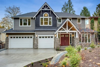 Bellevue Single Family Home For Sale: 824 100th Ave SE