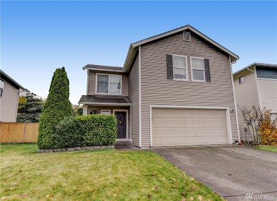 Puyallup Single Family Home For Sale: 9534 187th St Ct E
