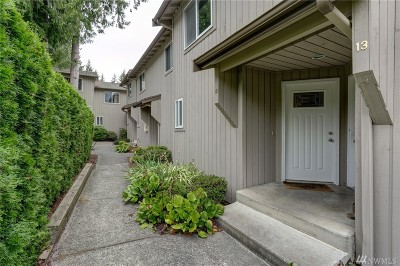 Bellingham Condo/Townhouse For Sale: 1305 W Clearbrook Dr #12