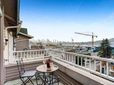 Seattle Condo/Townhouse For Sale: 1906 Franklin Place E #203