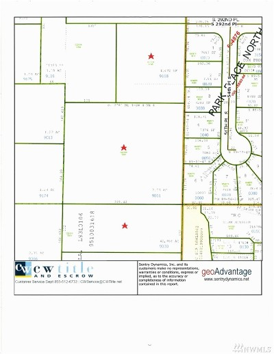 Auburn Residential Lots & Land For Sale: 55 S 292nd Place S
