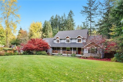 Woodinville Single Family Home For Sale: 17020 166th Place NE