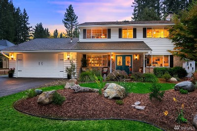 Sammamish Single Family Home For Sale: 24750 SE 30th St