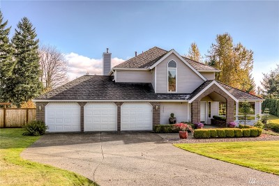 Puyallup Single Family Home For Sale: 13706 116th St Ct E