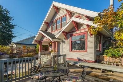 Single Family Home For Sale: 210 Crockett St