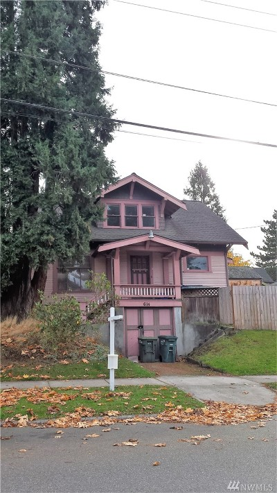 Bellingham Multi Family Home Sold: 614 Gladstone St