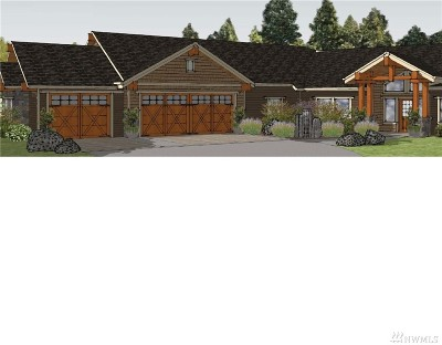Eatonville Single Family Home For Sale: 160 Mountain Crest Lane #Lot#6