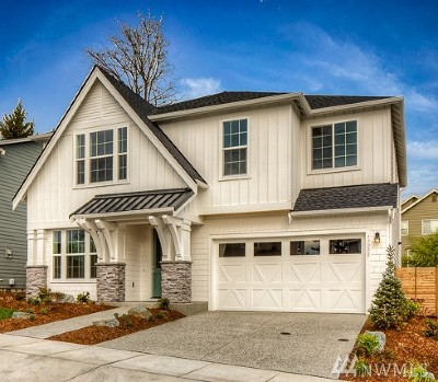 Redmond Single Family Home For Sale: 17208 NE 116th Wy #Lot 2