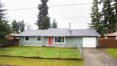 Spanaway Single Family Home For Sale: 17214 E 9th Ave
