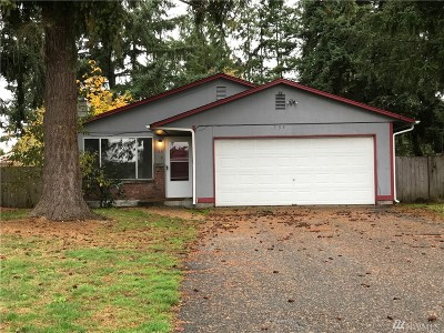 Spanaway Single Family Home For Sale: 135 167th St E