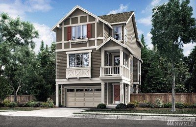 Lynnwood Condo/Townhouse For Sale: 14807 16th Place W #42
