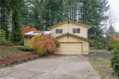 Olympia Single Family Home For Sale: 1408 Sunnyvale Ct NW